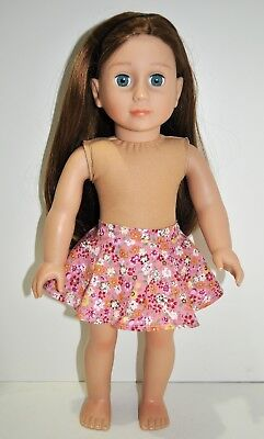 """American Girl Doll Our Generation Journey 18"""" Dolls Clothes Full Circle Skirt"""