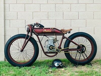 1913 Indian Single cylinder  Board Track Racer Replica