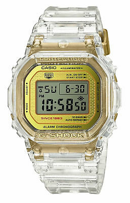 Casio G-Shock 35th Anniversary Glacier Gold DW5035E-7 Skeleton Collection LTD