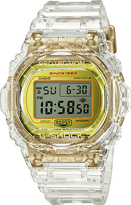 Casio G-Shock 35th Anniversary Glacier Gold DW5735E-7 Skeleton Collection LTD