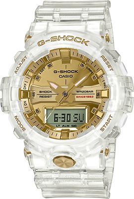 Casio G-Shock 35th Anniversary Glacier Gold GA835E-7A Skeleton Collection LTD