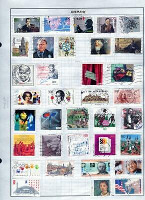 1¢ Wonder's ~ Germany Mint & Used Small Lot On Album Pages All Shown ~ B144