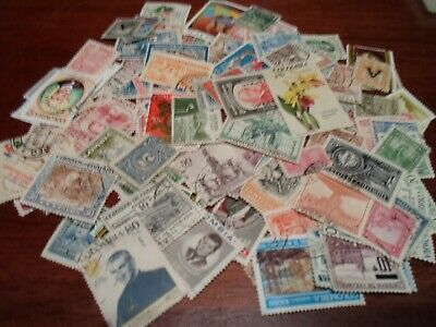 Collection lot 115 different stamps of Colombia