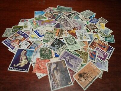 Collection lot 100 different stamps of Ireland