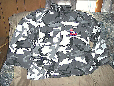 bae394d8753 Mens 3X Snow Camo Jacket & Liner Insulated Military Bdu Coat Cold Weather  Jacket