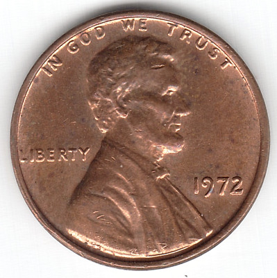 1972 Doubled Die #6 DDO-006 Lincoln Cent