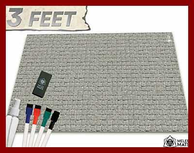 Battle Grid Dungeons Dragons Double Sided Game Mat Square