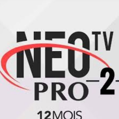 Neo pro 2 iptv,abonnement 12mois 8000chaines VOD m3u ois android mag TV box vlc