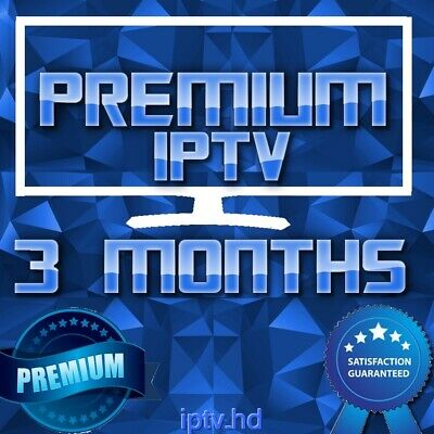 3 Months IPTV Premium Subscription with +20000 CH&VOD | TOP IPTV