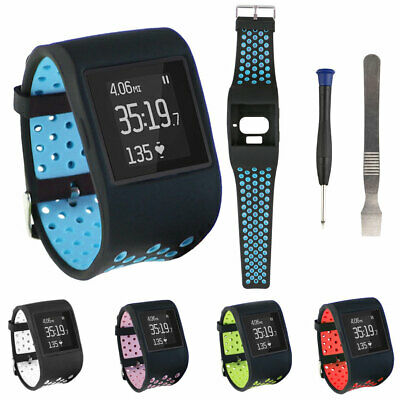 Replacement Wide Hollow Silicone Watch Band Strap Wristband for Fitbit Surge Cal