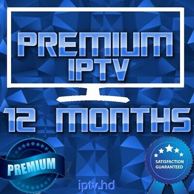 12 Months IPTV Premium Subscription with +20000 CH&VOD | TOP IPTV