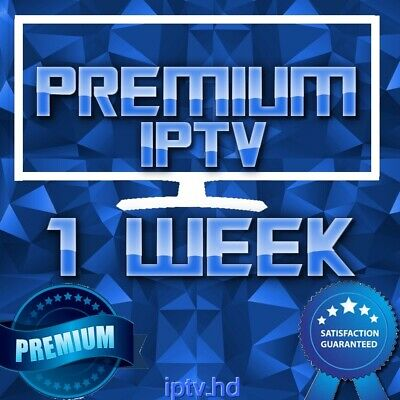 1 Week IPTV Premium Subscription with +20000 CH&VOD | TOP IPTV