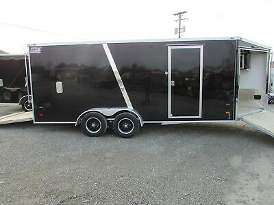 NEW 7x23 ENCLOSED 3 PLACE SNOWMOBILE TRAILER ON SALE NOW @ DR TRAILER SALES