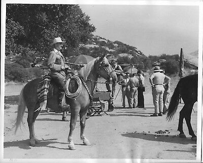 Hollywood 1947 Original on location, Western, behind the scene outdoor