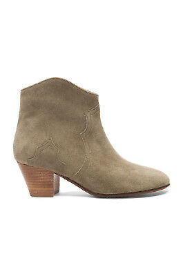 5108808f06bc NIB $635 ISABEL Marant Dicker Boots Ankle Bootie Balck Suede sz 39.5 ...