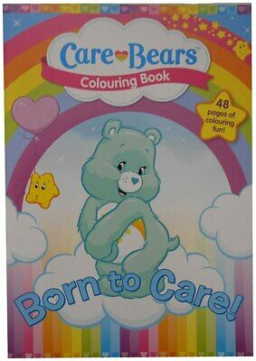 The Care Bears Childrens COLOURING BOOK Kids Painting Activity Book 48 Pages
