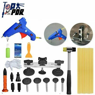 Dent Repair Tools Hammer Puller Bridge PDR Car Body Pairtless Removal Small Kit
