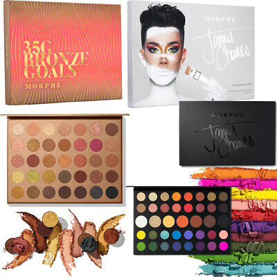 New The James Charles And 35G Bronze Goals Artistry Eyeshadow Palette Morphe x
