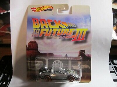 Hot Wheels Retro-Entertainment Back To The Future Part 3 New!