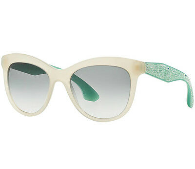 c9b979911a6 MIU MIU Crystal Rock SMU 10P Crystal Embellished Sunglasses - Ivory   Opal  Green