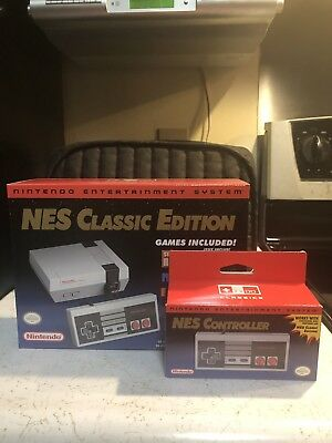 Nintendo Classic Edition & Nes Controller Brand New Free Shipping