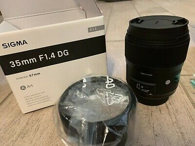 Brand new Sigma 35mm f/1.4 DG HSM Art Lens for Canon DSLR Cameras