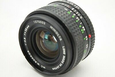 Minolta MC W.Rokkor 1:2.8 28mm Lens *As Is* #K001f