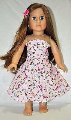 """American Girl Dolls  Our Generation Dolls Gotz 18"""" Doll Clothes Strapless Dress"""