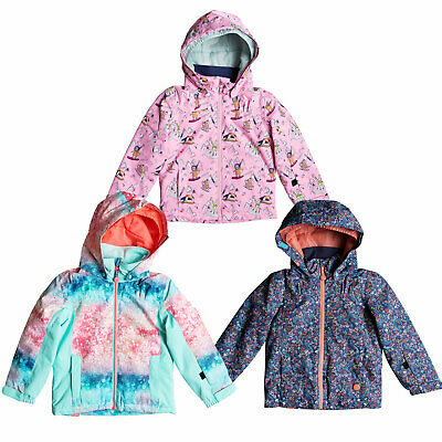 180d80f11 ROXY MINI JETTY Snow Jacket - Toddler Girls - Bachelor Button Rumba ...