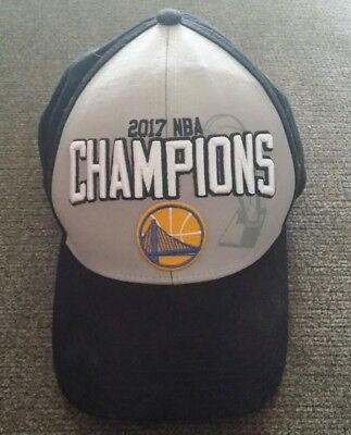 6375204bc74b0 ADIDAS GOLDEN STATE Warriors Official 2017 NBA Champions Adjustable ...