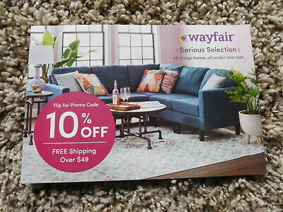 Wayfair 10% Off Coupon  Exp: 5/31/19