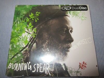 """Burning Spear """"Our Music"""" CD/DVD dual disc combo SEALED"""