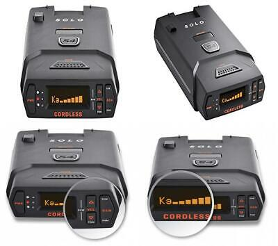 Cordless Radar Laser Detector Cordless Extreme Range False Alert Filter Black US