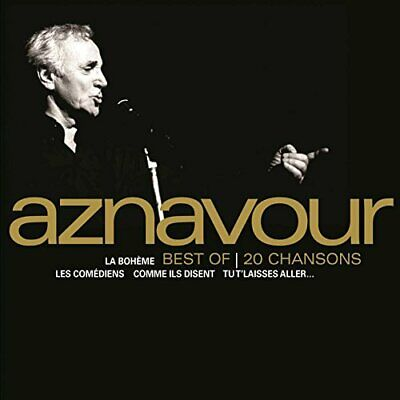 151245 Charles Aznavour - Best Of 20 Chansons (CD)  Nuevo 