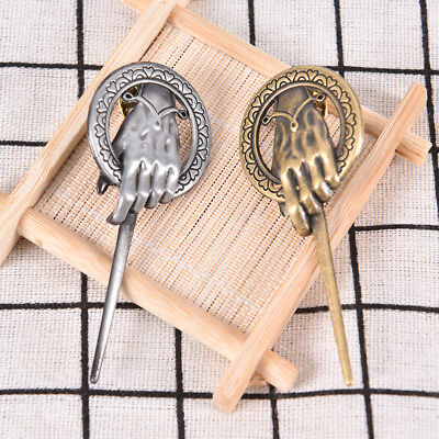 For Game of thrones hand of the king Lapel Replica Vintage costume pin bro、new