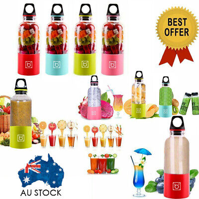 500ml Portable Juicer Cup USB Rechargeable Electric Automatic Bingo Vegetable