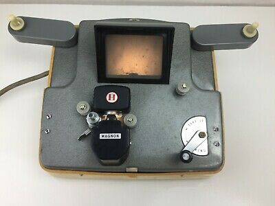 Magnon - Portable - 8mm Film Viewer - Needs Repair - Vintage - Made In Japan -