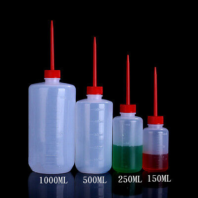 Plastic Dropper Bottles Liquid Oil Squeezable Sharp-Mouth Container 150mL-1000mL