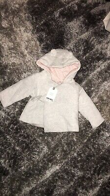 Baby Girls Next Soft Coat Jacket Brand Bew With Tags Size Up To 3 Months