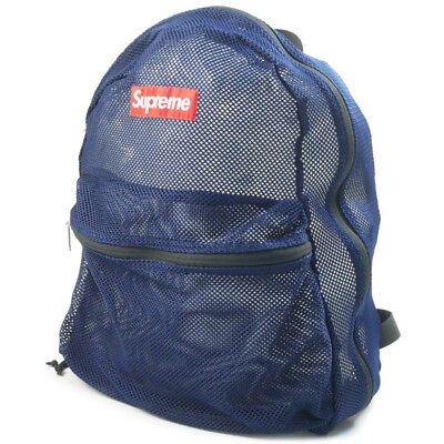 4c43c628a67c SUPREME 16 SS Mesh Backpack NAVY FREE