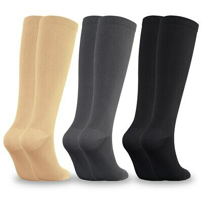 Compression Socks for Men & Women (15-20 mmHg) Fit for Running, Nurses, Travel