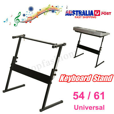 Portable 54/61 Key Z Frame Keyboard Stand Music Piano Holder Height Adjustable