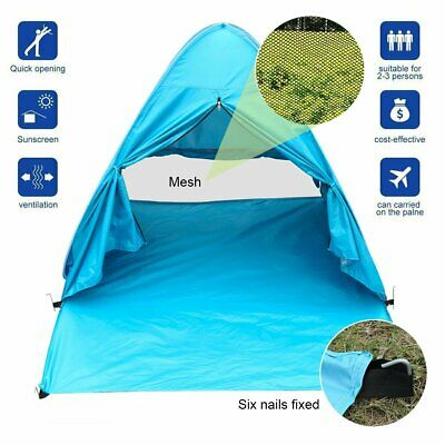 BFULL Pop Up Tent Automatic Portable Beach Tent Sun Shelters Anti UV