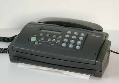 Fax Machine Philips HFC21 Phone / Fax
