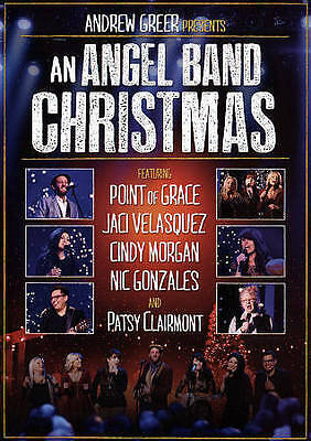 An Angel Band Christmas (DVD, 2015) Point of Grace Cindy Morgan