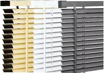 PVC Venetian VENETIAN BLND Blinds White Window Blinds All Sizes