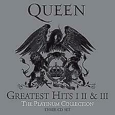 The Platinum Collection 2011 Remastered Queen Greatest Hits 1,2 And 3 Audio Cd