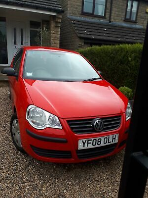 V.W POLO 3 door Red