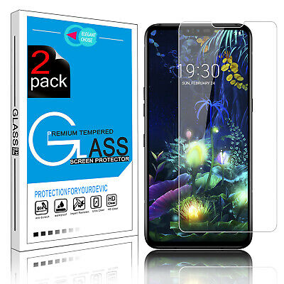 9H Full Cover Tempered Glass Screen Protector HD Protective For LG V50 ThinQ 5G