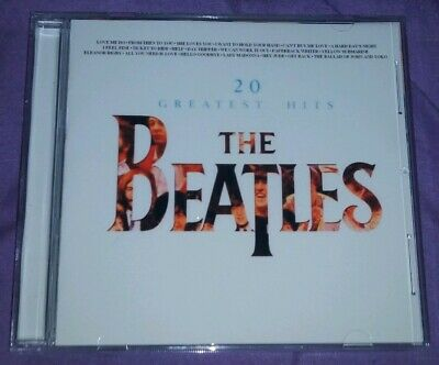 The Beatles 20 Greatest Hits Stereo Cd,U.K,.Rare Wispering intro on I Feel Fine!